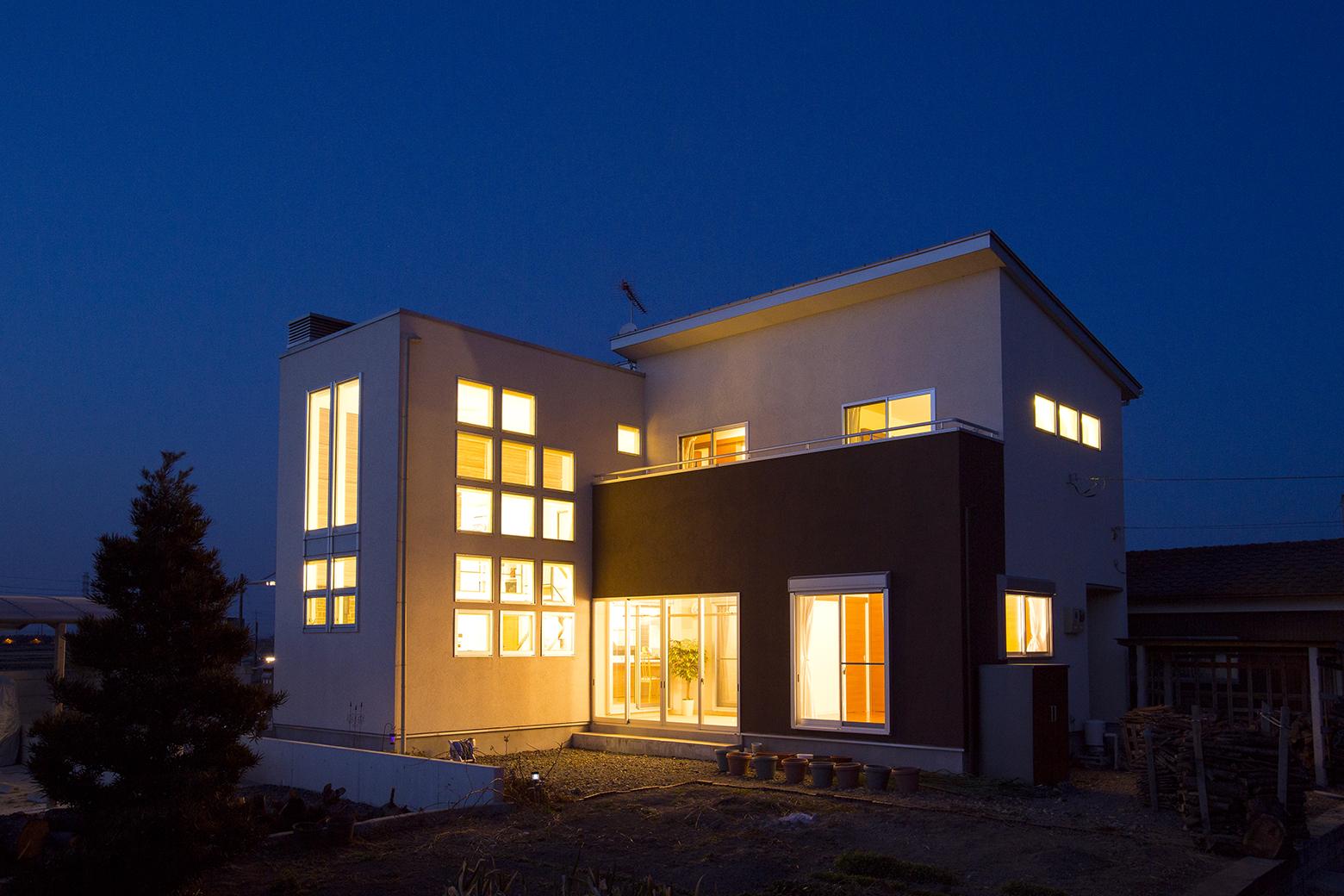自然光の家建築事例画像-10